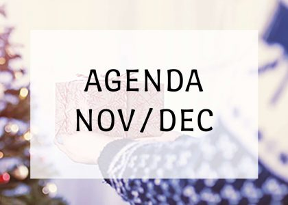 Agenda novembre-décembre