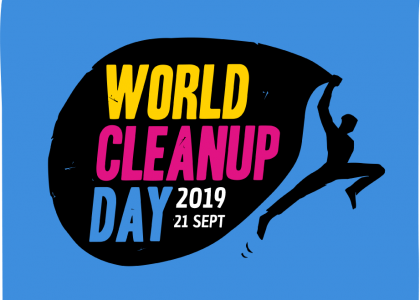 Nous participons au World Cleanup Day